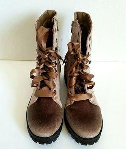Madden Girl studded boots NWOB